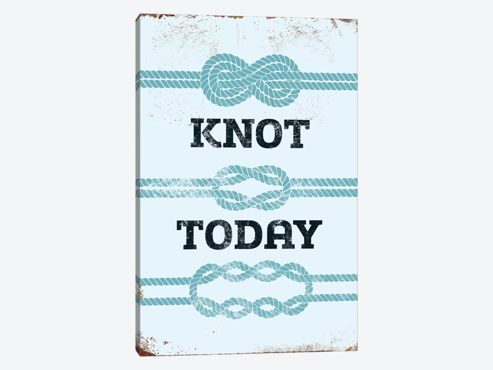 Knot Today by JJ Brando 1-piece Canvas Art