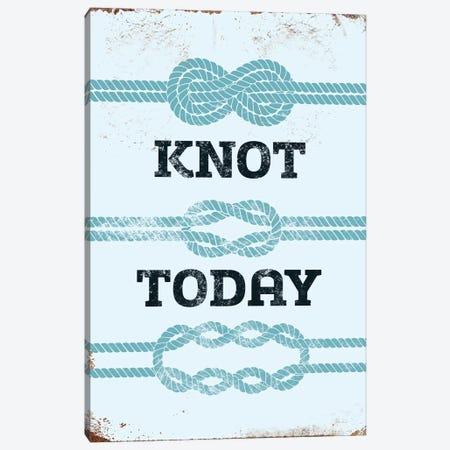 Knot Today Canvas Print #JJB34} by JJ Brando Canvas Wall Art