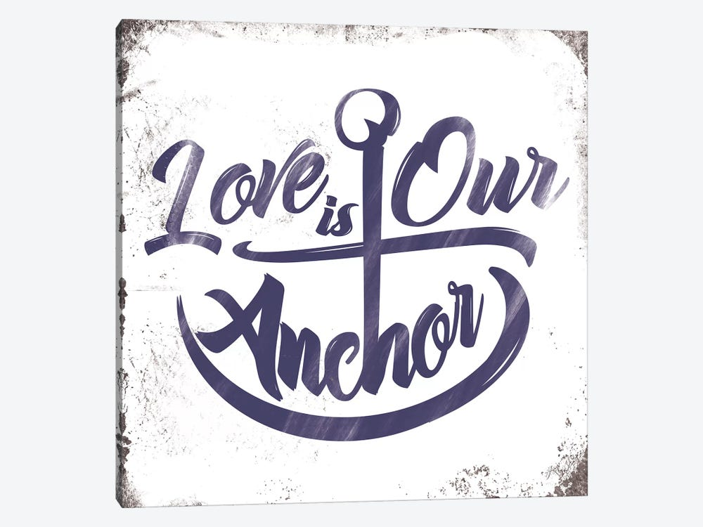 Love Anchor by JJ Brando 1-piece Art Print