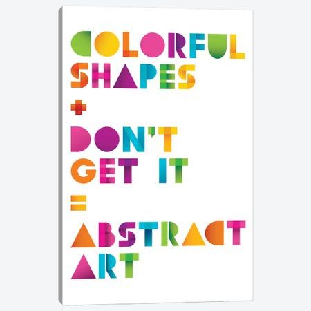 Abstract Art Canvas Print #JJB3} by JJ Brando Canvas Art Print