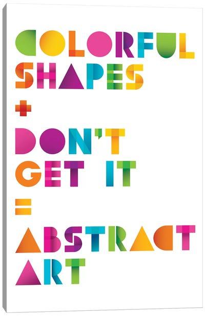 Abstract Art Canvas Art Print