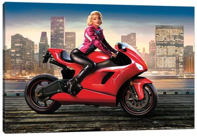 Marilyn's Ride I Canvas Art Print