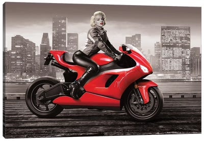 Marilyn's Ride II Canvas Art Print