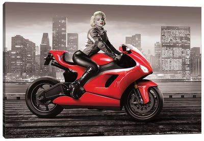 Marilyn's Ride II Canvas Art Print