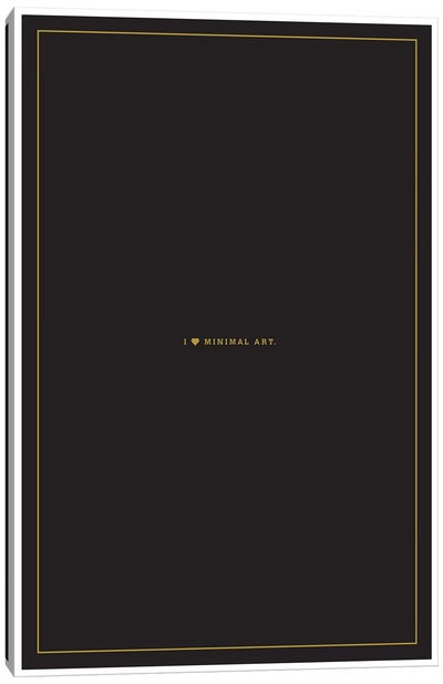 Minimal Art Canvas Art Print