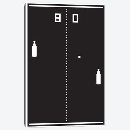 New Pong Canvas Print #JJB50} by JJ Brando Canvas Print
