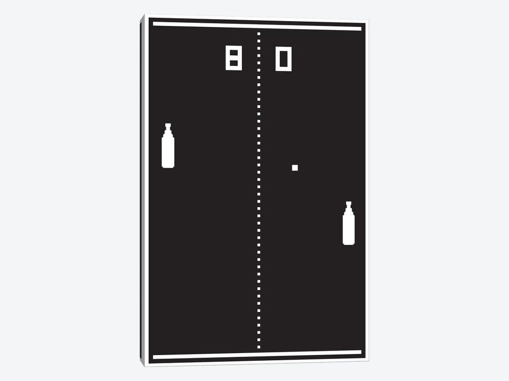 New Pong by JJ Brando 1-piece Canvas Art