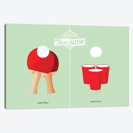 Pong Canvas Print #JJB53} by JJ Brando Canvas Print