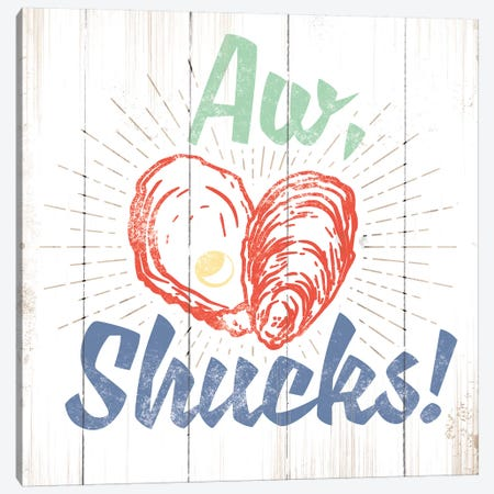 Aw Shucks Canvas Print #JJB5} by JJ Brando Canvas Artwork