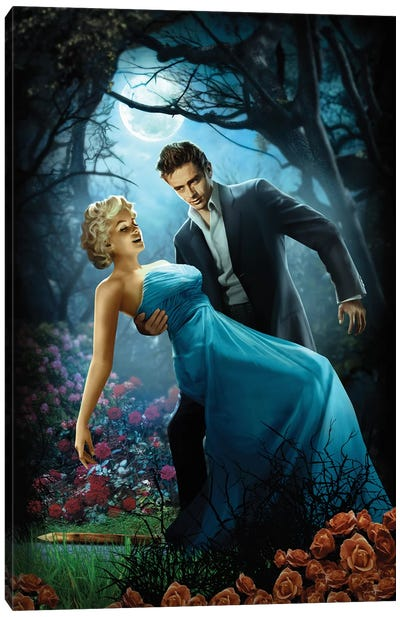 Twilight Canvas Art Print