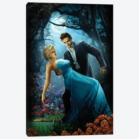 Twilight 3-Piece Canvas #JJB60} by JJ Brando Canvas Art
