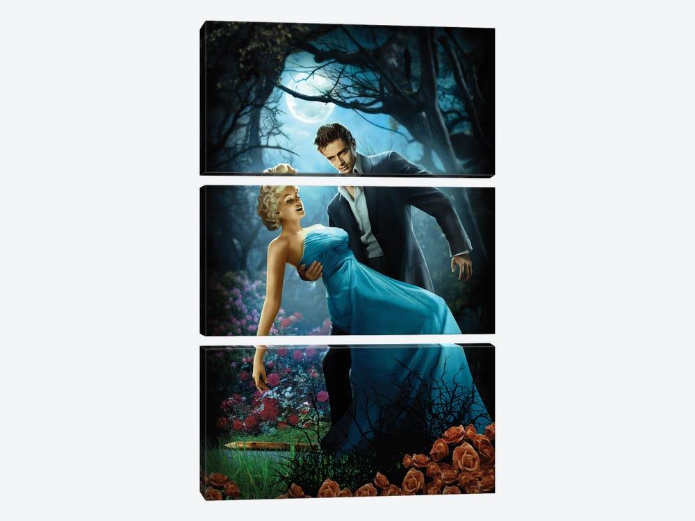Twilight by JJ Brando 3-piece Canvas Print