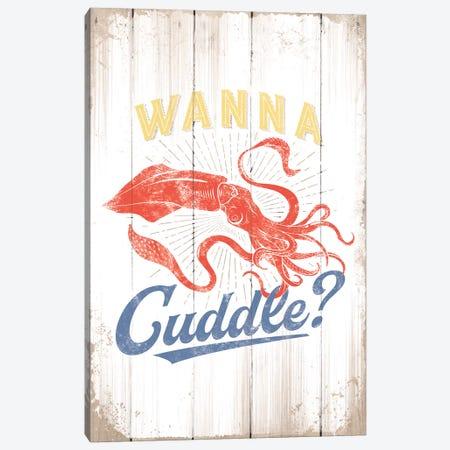 Wanna Cuddle Canvas Print #JJB61} by JJ Brando Canvas Wall Art