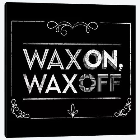 Wax On 3-Piece Canvas #JJB63} by JJ Brando Canvas Wall Art