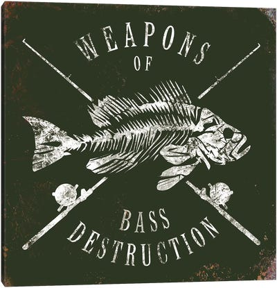 Weapons Of Bass Canvas Art Print