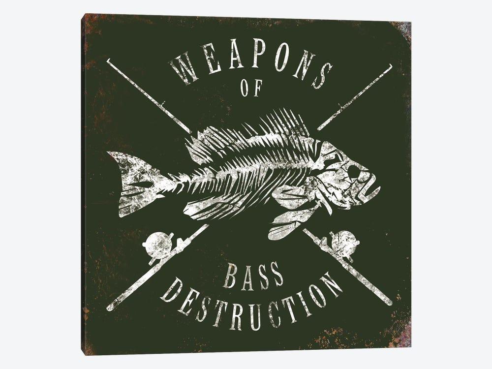Weapons Of Bass by JJ Brando 1-piece Art Print