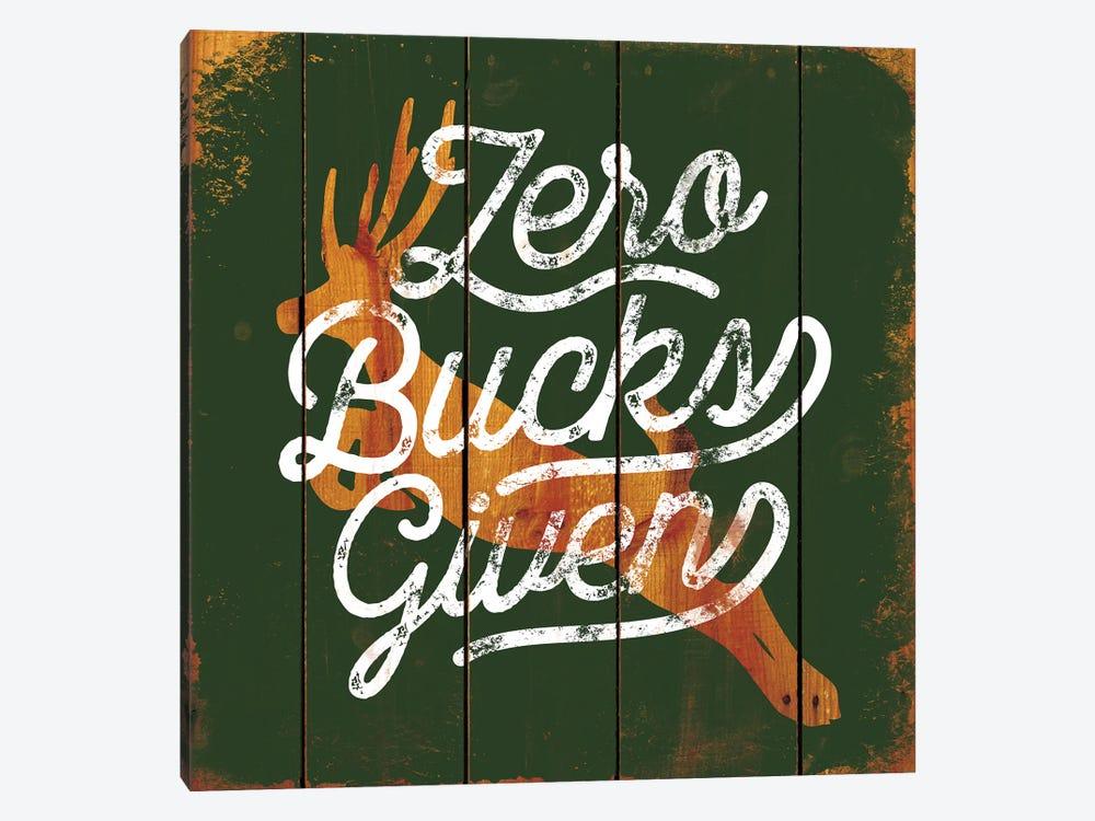 Zero Bucks by JJ Brando 1-piece Art Print