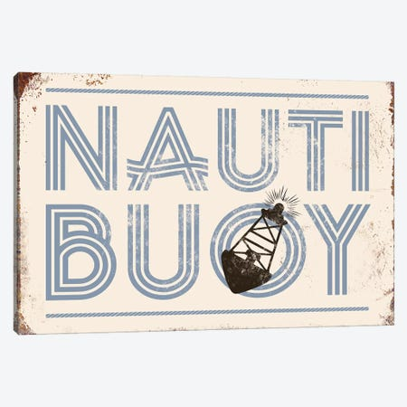 Nautibuoy Canvas Print #JJB75} by JJ Brando Canvas Wall Art