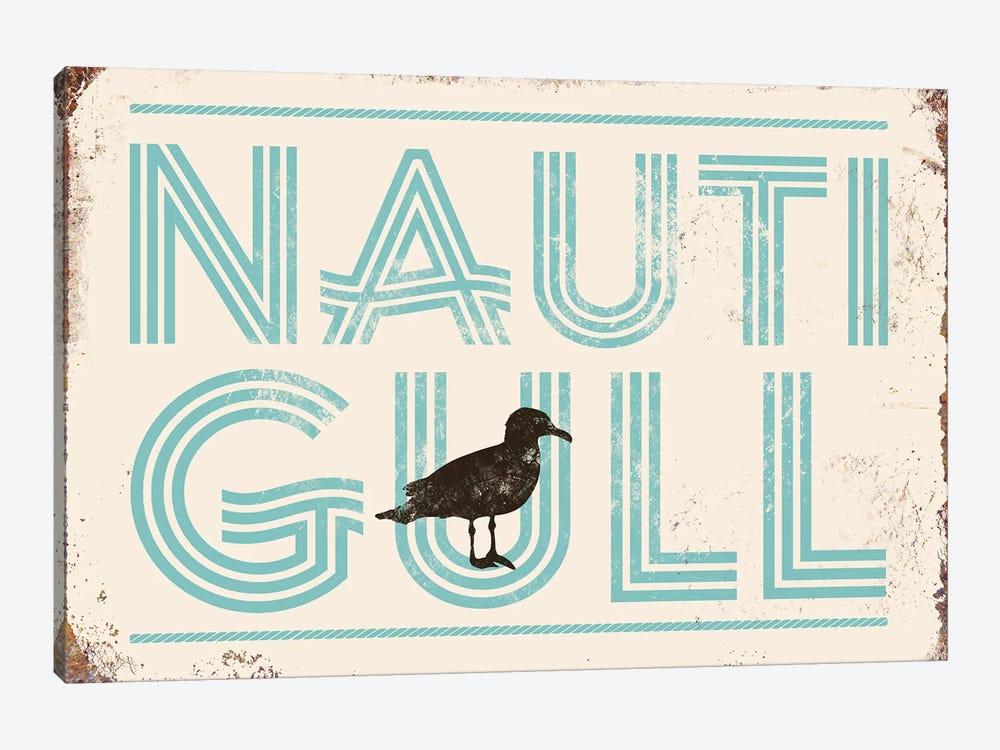 Nautigull by JJ Brando 1-piece Canvas Artwork