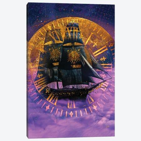 Sail Away Canvas Print #JJH18} by Jesse Johnson Art Print
