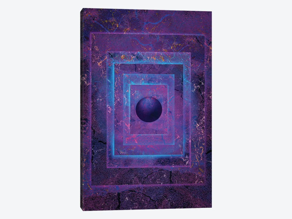 Glowing Orb by Jesse Johnson 1-piece Art Print