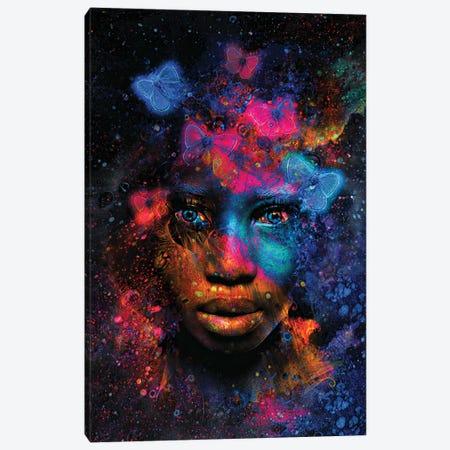The Butterfly Effect Canvas Print #JJH20} by Jesse Johnson Canvas Wall Art