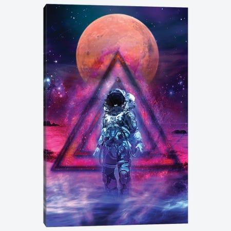 The Cosmonaut Canvas Print #JJH21} by Jesse Johnson Canvas Wall Art