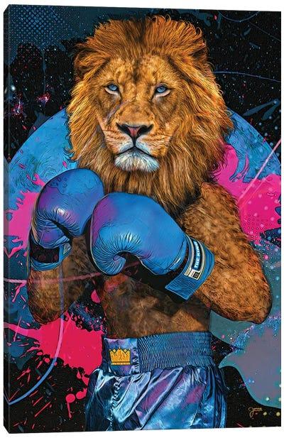 The Lion King Canvas Art Print