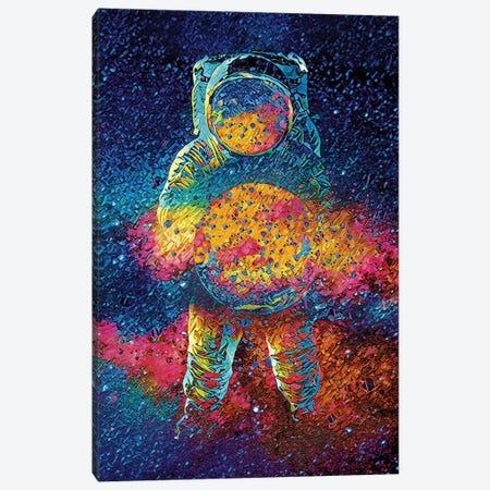 Cosmic Bang Canvas Print #JJH8} by Jesse Johnson Art Print