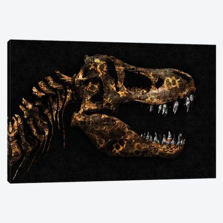 Cryptosaurus-Rex Canvas Print #JJH9} by Jesse Johnson Canvas Print