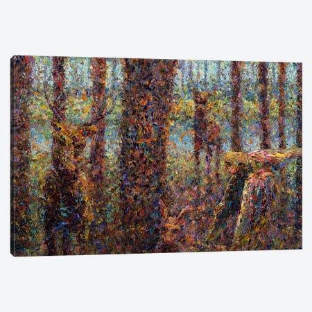Encounter Canvas Print #JJN17} by James W. Johnson Canvas Wall Art