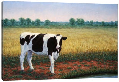 Happy Holstein Canvas Art Print