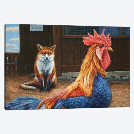 Peaceful Coexistence Canvas Print #JJN31} by James W. Johnson Canvas Art Print
