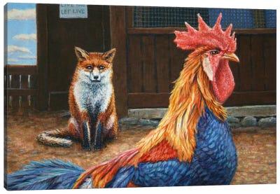 Peaceful Coexistence Canvas Art Print