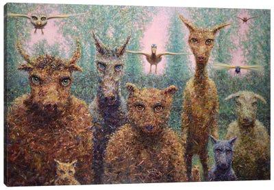 The Untamed Canvas Art Print