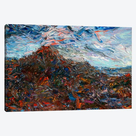 Volcano Canvas Print #JJN46} by James W. Johnson Canvas Art Print