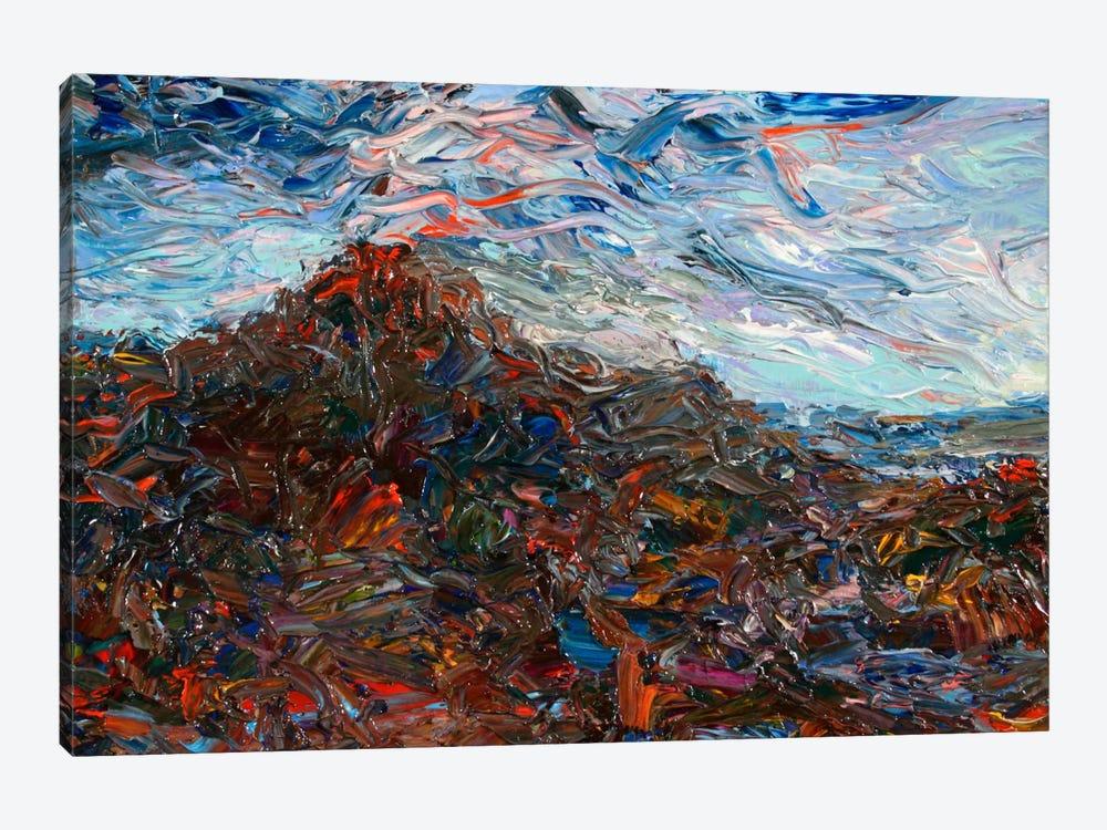Volcano by James W. Johnson 1-piece Canvas Art Print