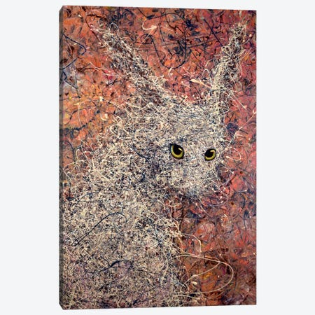 Wild Hare Canvas Print #JJN47} by James W. Johnson Canvas Art Print