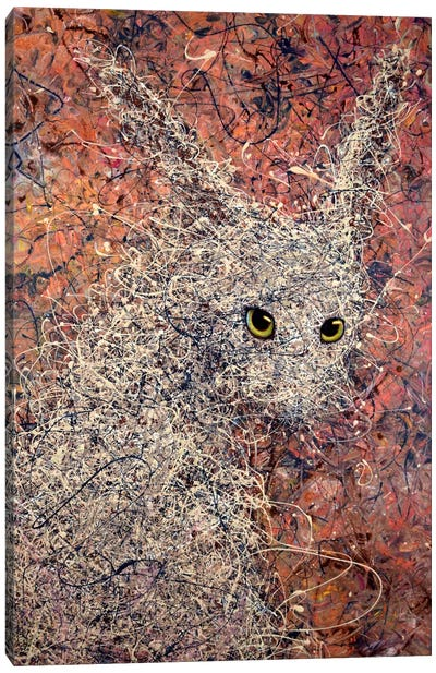 Wild Hare Canvas Art Print