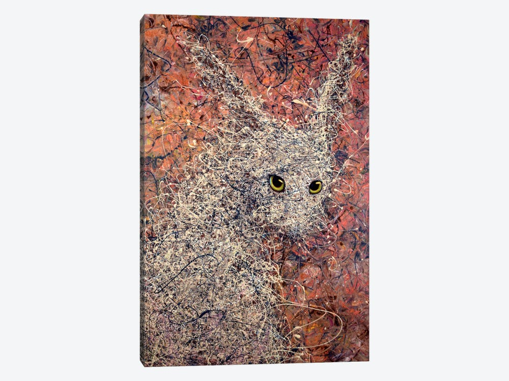 Wild Hare by James W. Johnson 1-piece Canvas Art