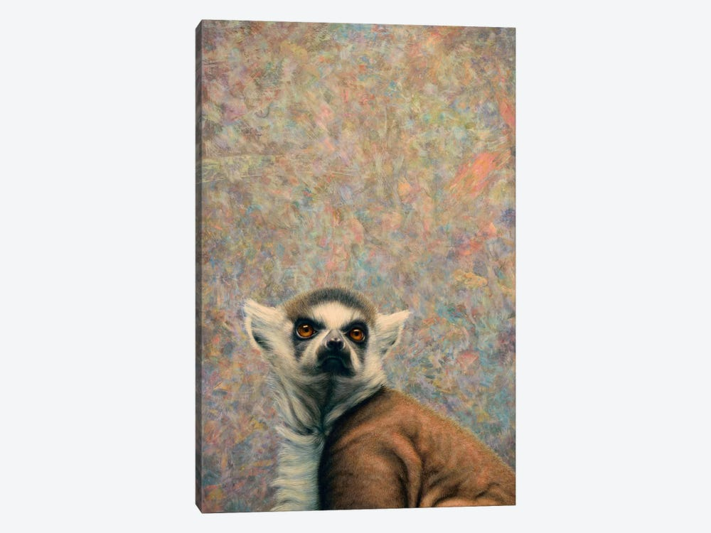 Lemur by James W. Johnson 1-piece Canvas Art