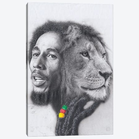 King Marley Canvas Print #JJS10} by Josiah Jones Canvas Wall Art