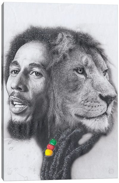 King Marley Canvas Art Print