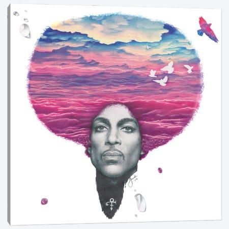 Purple Reign Canvas Print #JJS12} by Josiah Jones Canvas Artwork
