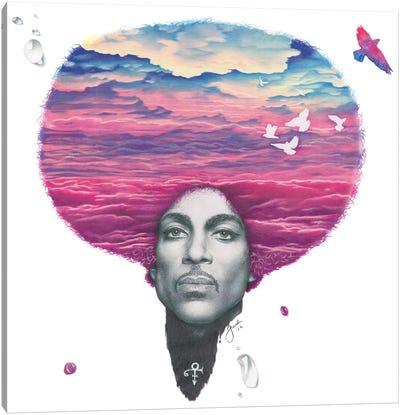 Purple Reign Canvas Art Print