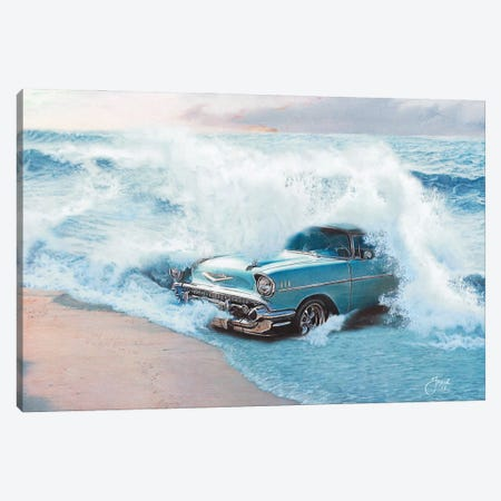 Sex On The Beach Canvas Print #JJS13} by Josiah Jones Canvas Wall Art