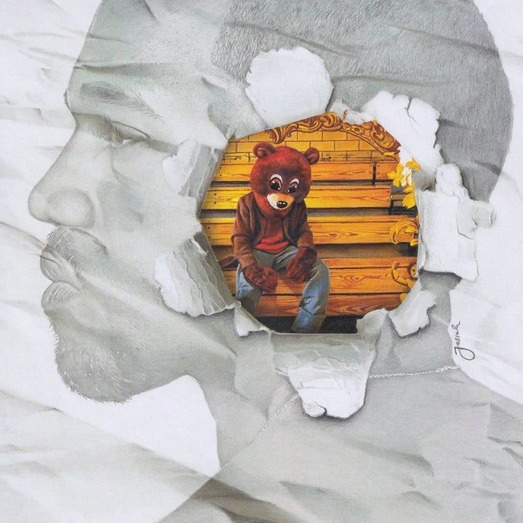 The College Dropout Remixed Canvas Print by Josiah Jones   iCanvas