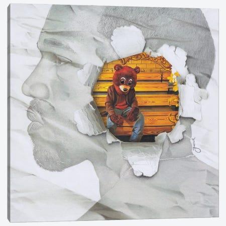 The College Dropout Remixed Canvas Print #JJS15} by Josiah Jones Canvas Art Print