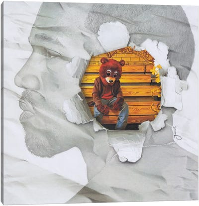 The College Dropout Remixed Canvas Art Print