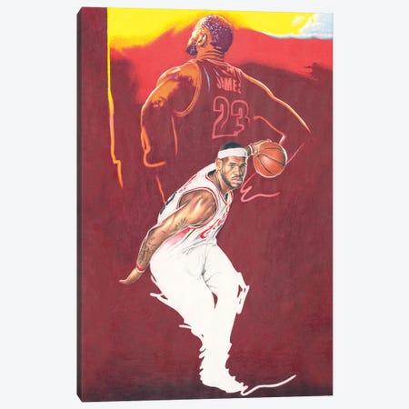 CleveLAND of LEBRON Canvas Print #JJS4} by Josiah Jones Canvas Wall Art